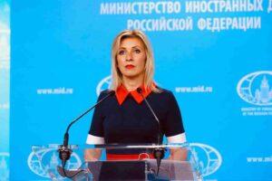 Мария Захарова: Да се говори с Русия на езика на ултиматуми и заплахи е ущърбна логика