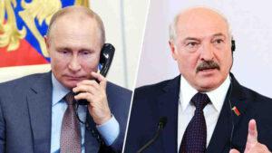 Владимир Путин поздрави Лукашенко с Деня на независимостта на Беларус