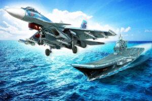 Самолети на Черноморския флот на Русия проведоха полети над Черно море на фона на маневрите на НАТО