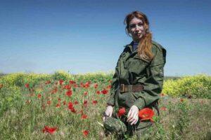 Днес в Донецк се проведе прощална церемония с нашата Катерина Катина..спи спокойно, смело момиче, делото ти ще бъде продължено