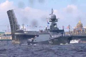 Грандиозен парад в чест на Деня на ВМФ Русия на 25 юли ще се проведе в Санкт Петербург