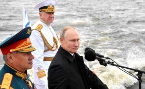 В Санкт Петербург завърши Военноморският парад в чест на Деня на флота на Русия