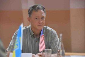 Американска делегация посети зоната на силова операция в Донбас