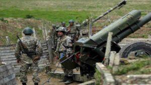 Азербайджанските военни започнаха да настъпват навътре в Армения