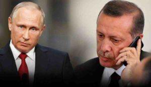 Владимир Путин обсъди с Ердоган ситуацията с пожарите в Турция
