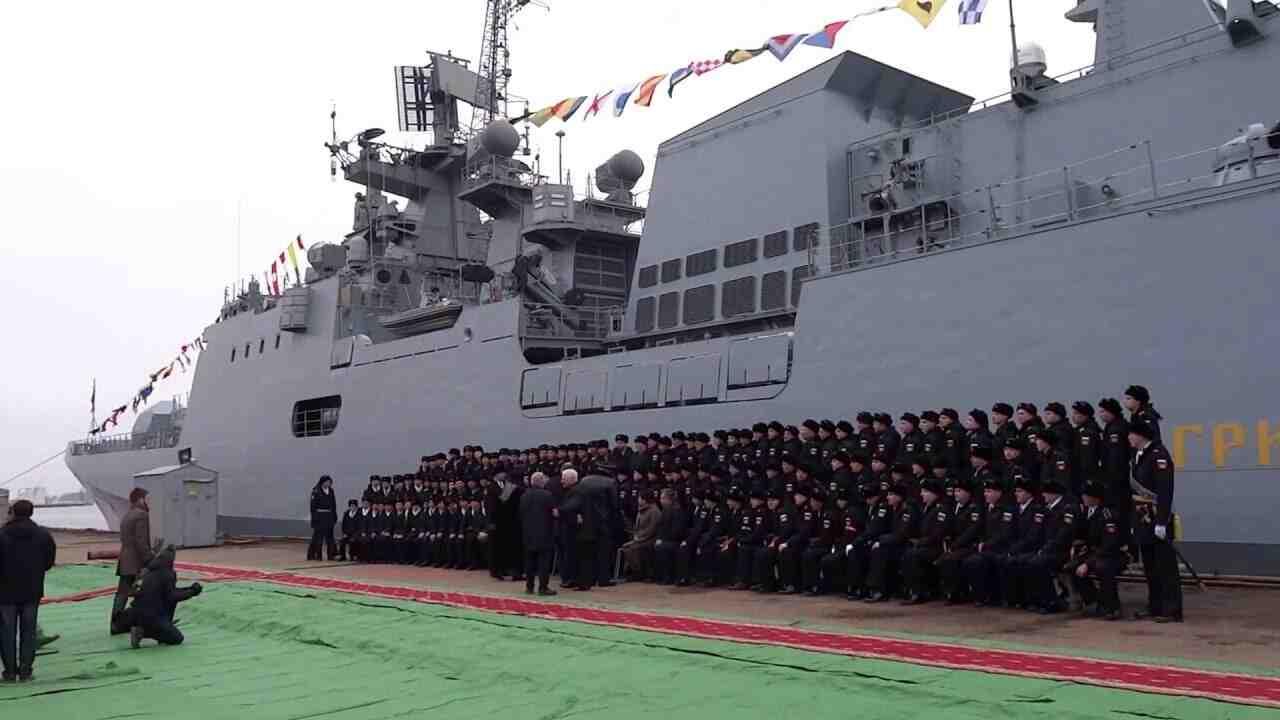 """СМИ САЩ: Руските фрегати от типа """"Адмирал Григорович"""""""