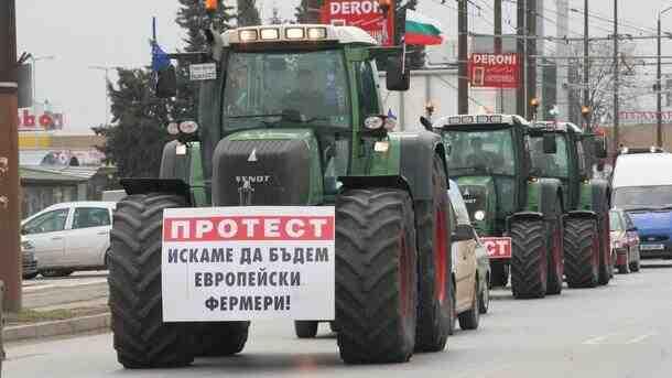 Фермери протестират на 2 септември