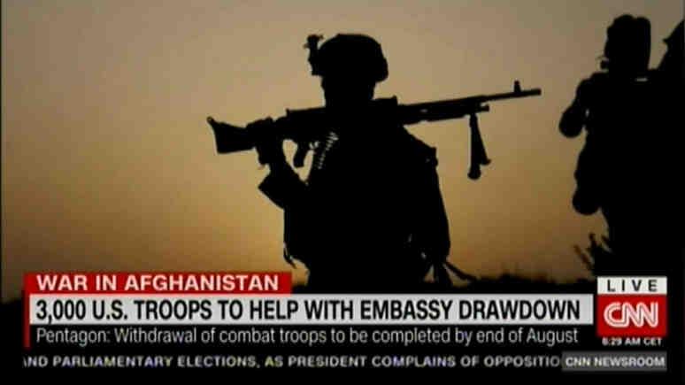 CNN: САЩ изпращат 3000 войници в Кабул, за да прикрият евакуацията на посолството