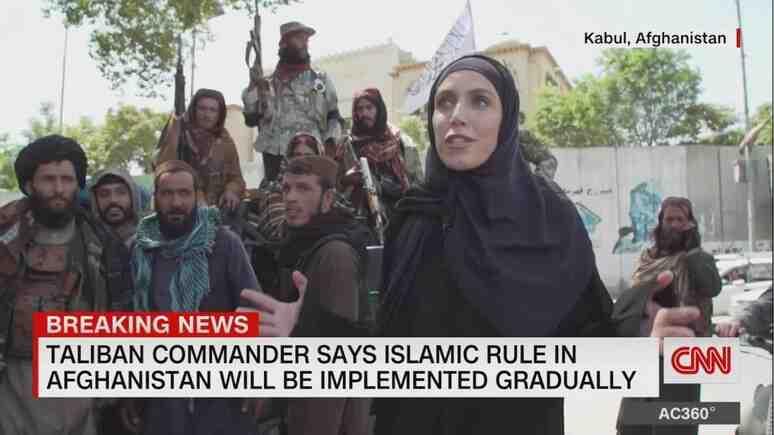 """Daily Express: Репортер от CNN нарече талибаните """"дружелюбни"""""""