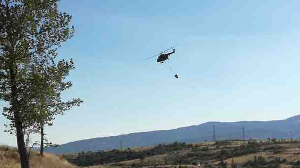 България разполага с един хеликоптер за гасене на горски пожари