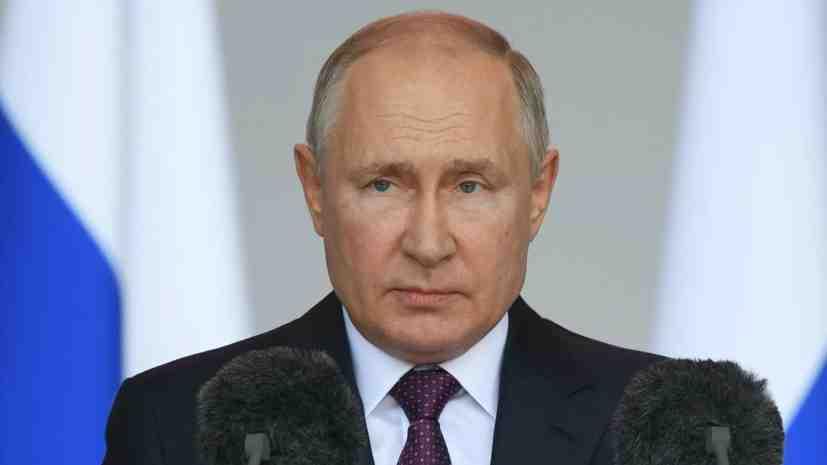 Путин: Процентът на новите кораби във ВМФ на РФ трябва да достигне 70