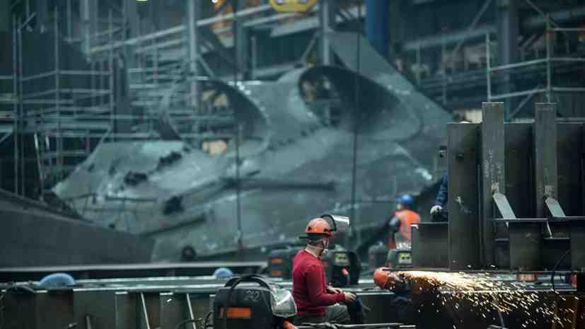 В Амурския корабостроителен завод в Русия започна строителството на две корвети
