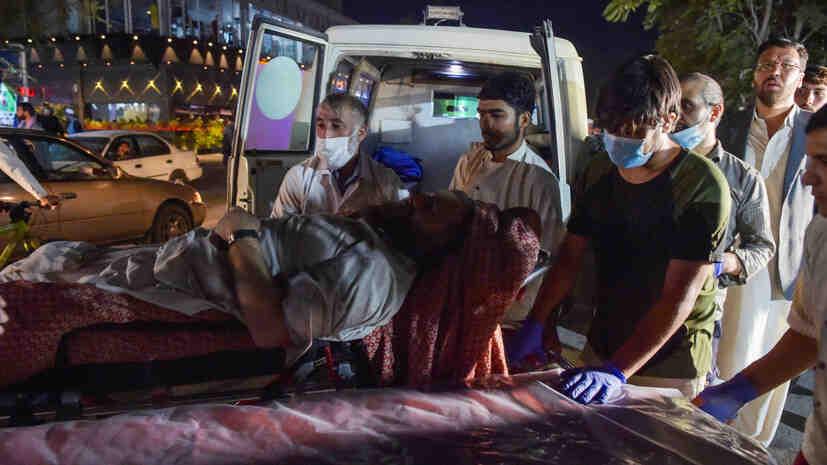 WSJ: Общият брой на жертвите от взрива в Кабул надхвърли 100 човека