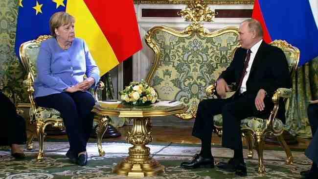 Меркел: Скъпи Владимир, това е моята прощална визита!