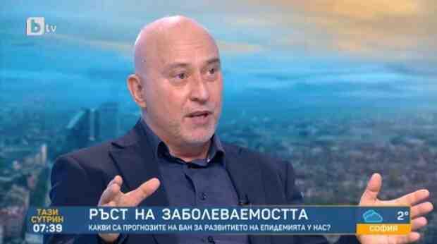 Проф. Огнян Кунчев: Ще се наложи нов локдаун, ще стигнем 7 хиляди заразени на ден