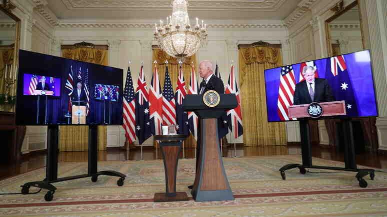 """Figaro: Франция трябва да отговори на американското """"предателство на века"""" с решителни стъпки към независимост"""