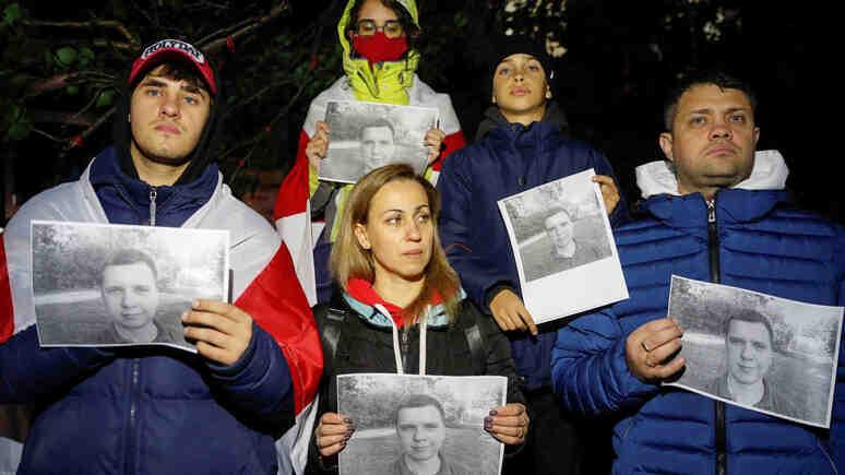В Киев почетоха паметта на гражданина на Беларус, който застреля сътрудник на спецслужбите в Минск