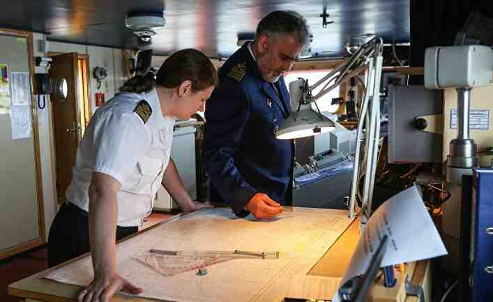 The Japan Times: Рускиня, начело на ледоразбивач, проправя път в Арктика