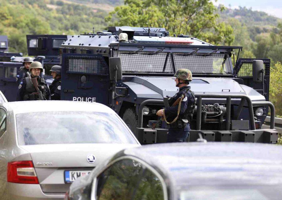 Напрежение на границата между Сърбия и Косово