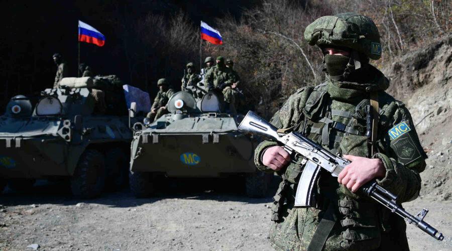 Комплексна тренировка на руските миротворци в Нагорни Карабах