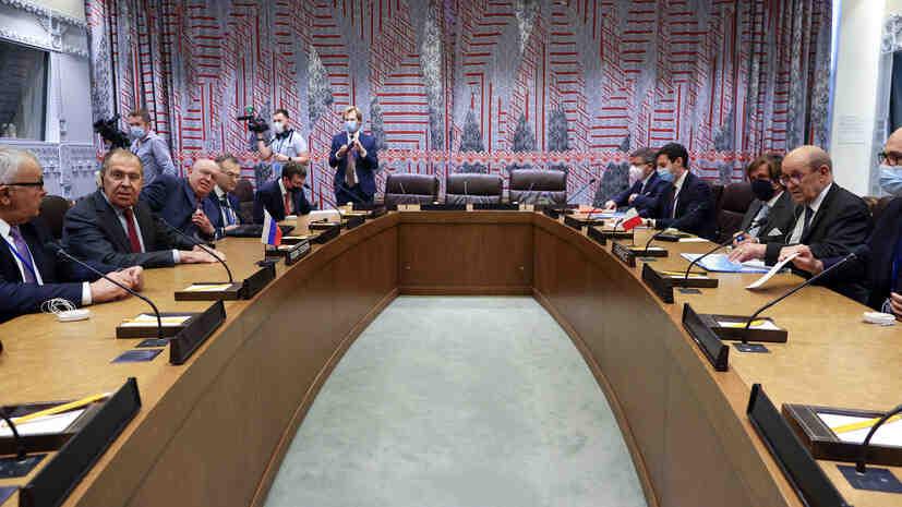 МВнР на Русия за темите на преговорите между Лавров и френския му колега