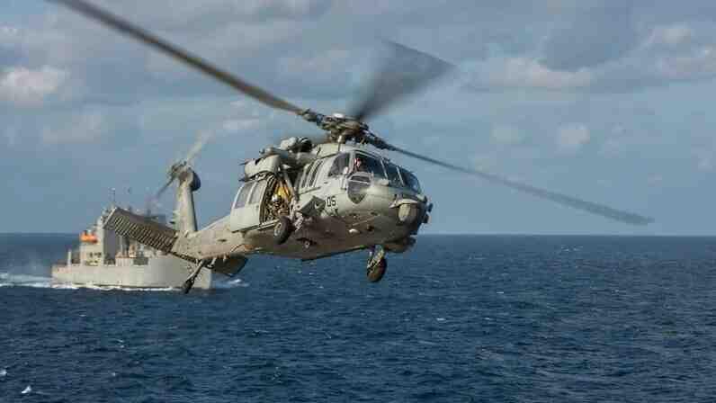 Военен хеликоптер се разби край бреговете на Калифорния