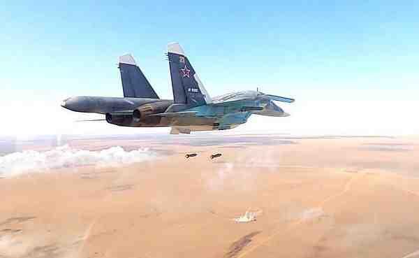 ВКС на Русия интензивно бомбардират останките от ИД в сирийската пустиня