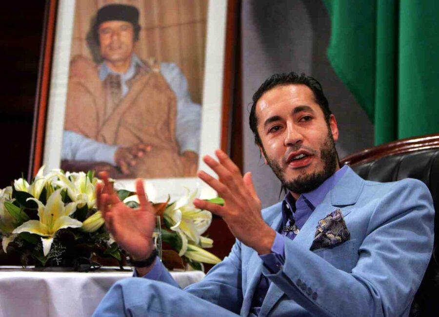 третият син на полковник Кадафи е освободен от затвора