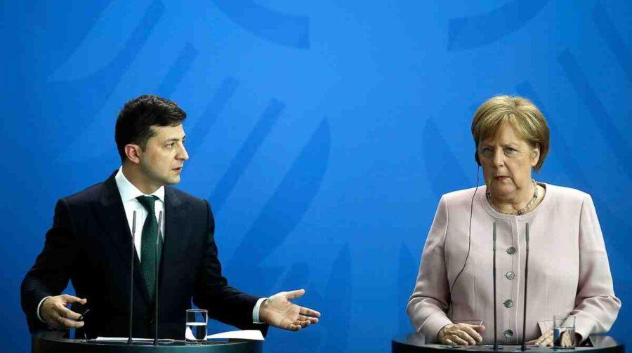 Меркел нанесе смразяващ удар на Зеленски