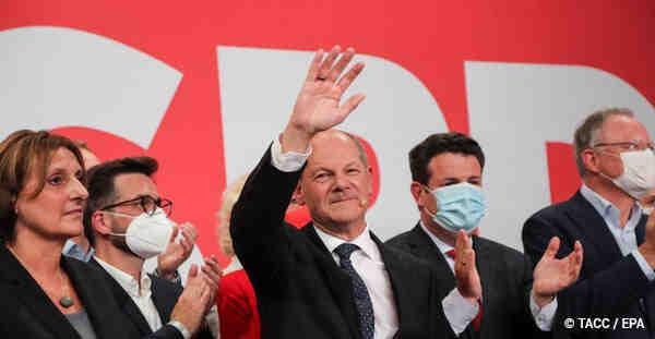 Социалдемократите спечелиха изборите в Германия