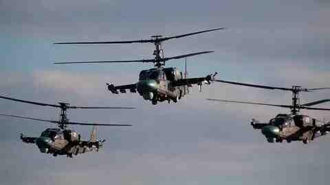 """""""Запад-2021"""": Непрекъснат огън от хеликоптери в """"кръг"""""""