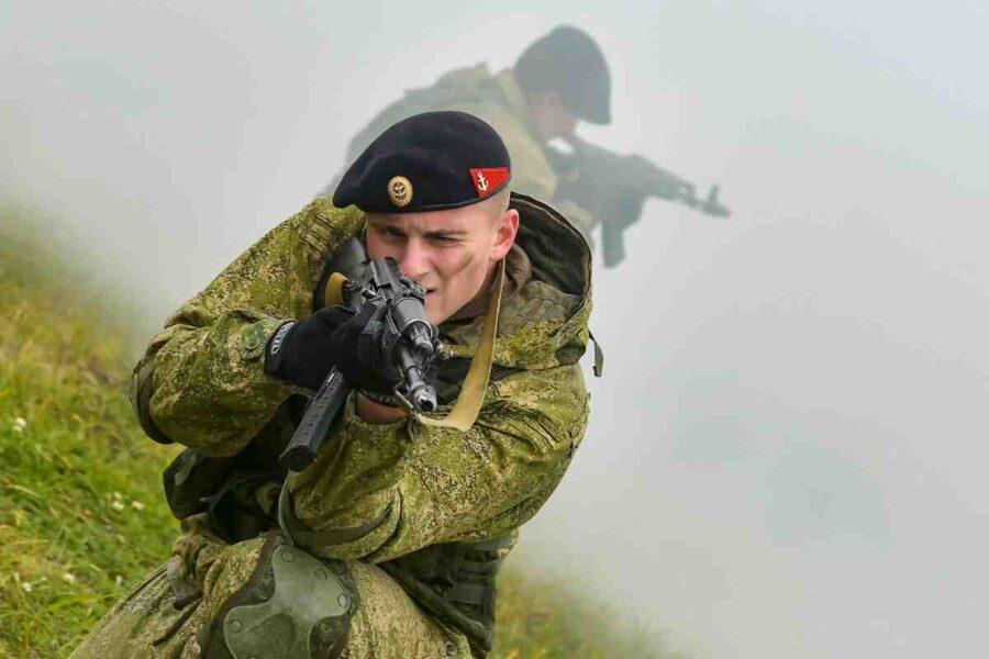 """Морски пехотинци на Русия активно в ученията """"Запад-2021"""""""