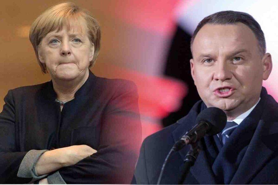 Welt нарече отказа на полския президент да се срещне с Меркел оскърбителен