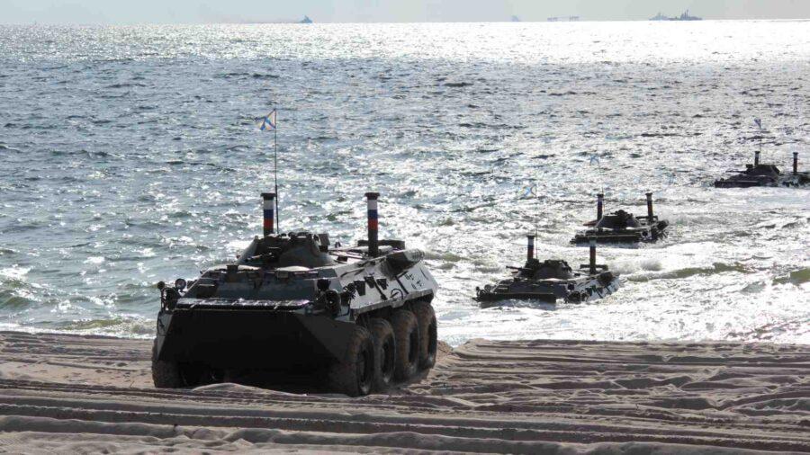 """Балтийският флот на Русия в ученията """"Запад-2021"""""""