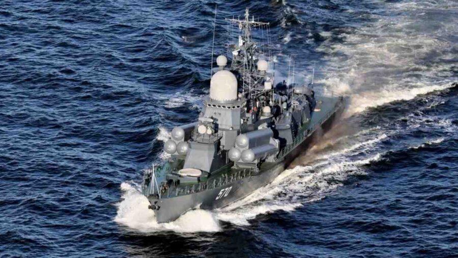 """15 кораби и катери от Балтийския флот на Русия се присъединяват към учението """"Запад-2021"""""""
