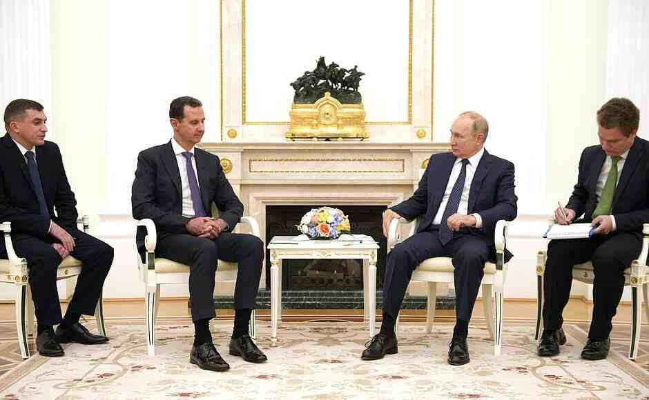 Асад на среща с Путин: Санкциите срещу Сирия са нечовешки