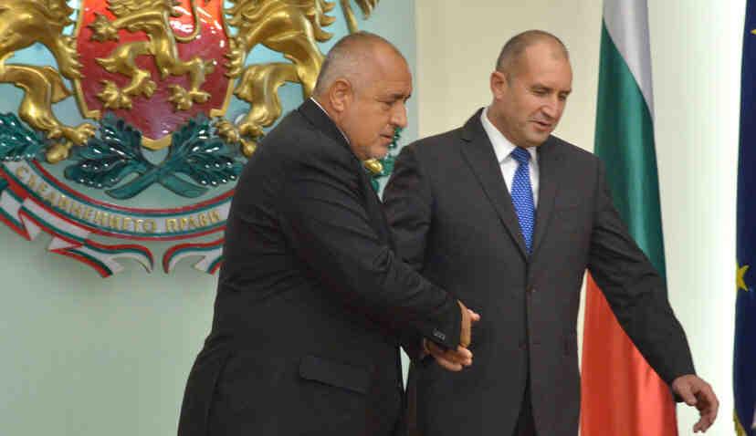"""Радев: """"Единствените думи на Борисов, които имат значение, са тези, които ще произнесе пред следващия главен прокурор"""""""