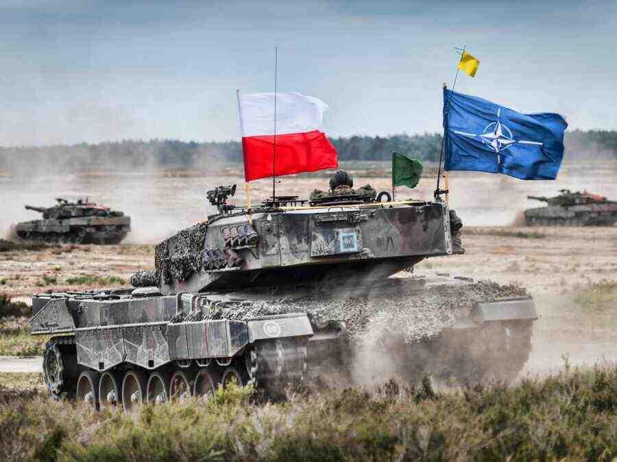 Варшава изгражда канал на Балтийската коса за прехвърляне танкове на НАТО в района на Калининград