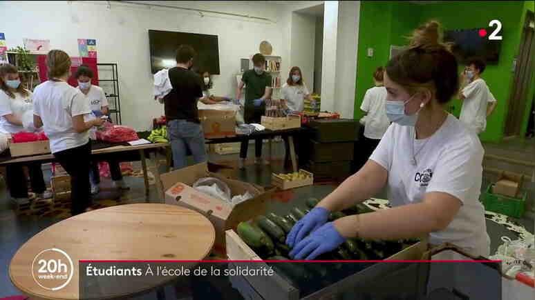 France 2: Глад сред френските студенти, опашки за храна