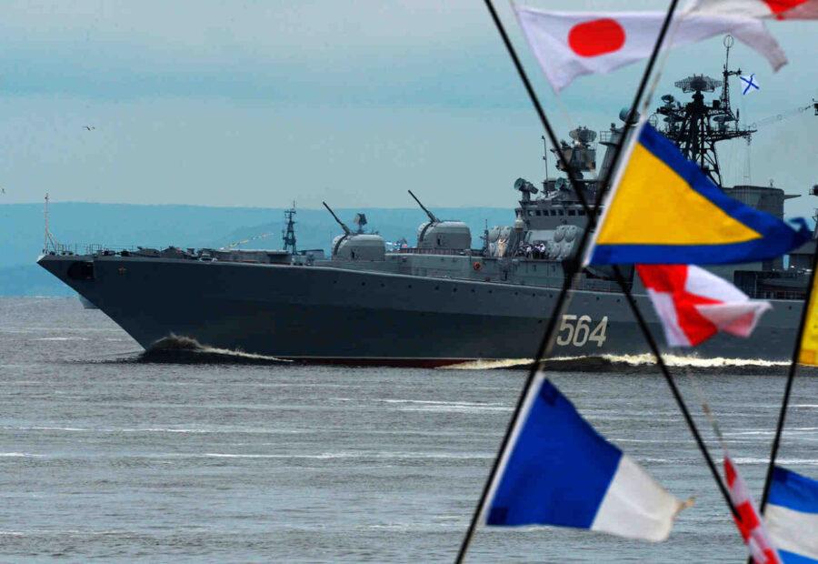 Кораби от Тихоокеанския флот на Русия изстреляха десет ракети в Японско море